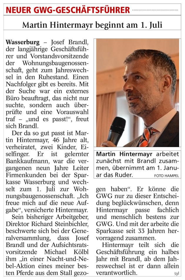 gwg-eg-news-pressemitteilung-martin-hintermayer-neuer-gwg-geschaeftsfuehrer